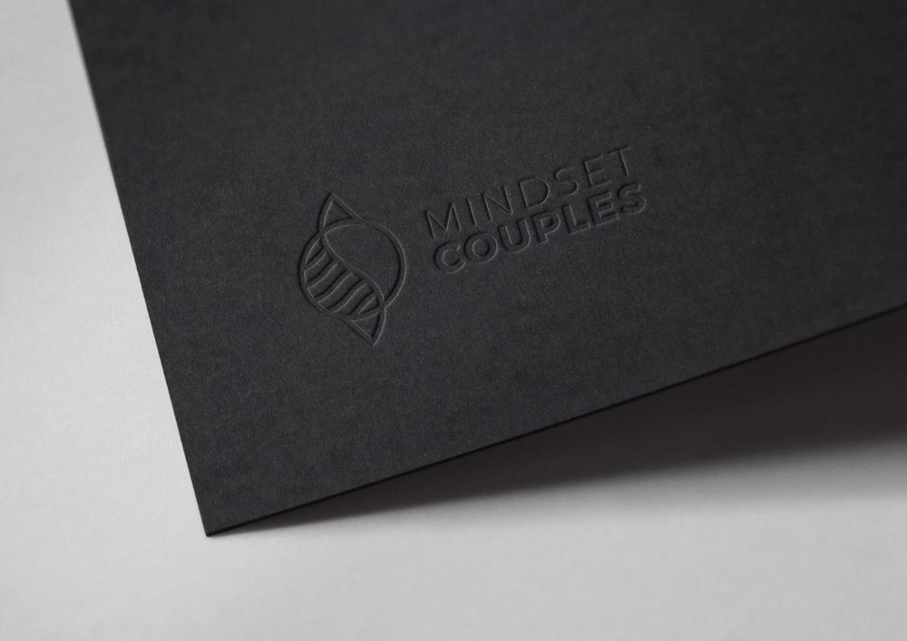 Mindset Couples Logo Mockup